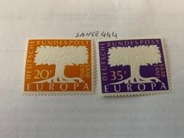 Germany Saarland Europa 1957 Mnh - Europa-CEPT