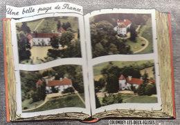 52 /  Colombey Les Deux Eglises : Façon Livre Ouvert        ///  REF  AOUT. 19  //   BO.52 - Colombey Les Deux Eglises