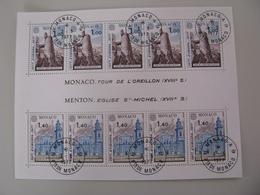 Monaco   1273 - 1274   O    Block - Gebraucht