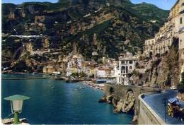 Amalfi - Veduta Panoramica - Formato Grande Viaggiata Mancante Di Affrancatura – E 13 - Salerno