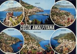 Costa Amalfitana - Formato Grande Viaggiata Mancante Di Affrancatura – E 13 - Salerno