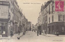 52 /  Chaumont  :   Rue Tréfousse ( Petit Défaut Bord H.)    ///  REF  AOUT. 19  //   BO.52 - Chaumont