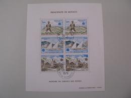 Monaco   1375 - 1377   O    Block - Gebraucht
