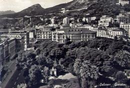 Salerno - Giardini - Formato Grande Viaggiata – E 13 - Salerno