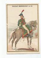 Chromos Cacao Bensdorf Ohhicier Des Guides D'Egypte 1799 - Unclassified