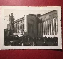 Bologna Allestimento Visita Mussolini Ottobre 1936 Fotografia - Bologna