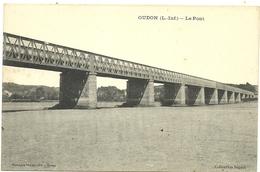 (  OUDON  )( 44 LOIRE INFERIEURE )( PONTS ) LE PONT - Oudon
