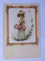 Kinder, Mode, Korb 1901, Fußball Verein Bockenheim, Prägekarte ♥ (54597) - Calcio