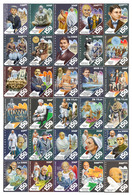 Central African Countries 2019 Gandhi Special 150 Years 30 Value Stamps Set In A Folder - Sellos