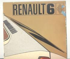 Catalogue - Voiture RENAULT 6 - Automobile, Oldtimer (b258) - Publicités