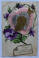 Belle CPA Poisson D'Avril Dans Un Coeur 1er Avril Avec Différents éléments - 1er Avril - Poisson D'avril