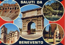 Saluti Di Benevento - Formato Grande Viaggiata – E 13 - Benevento