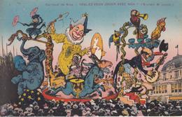 """Carnaval De NICE  """" VOULEZ VOUS LOUER AVEC MOI """" (M.Brunetti  Constr.) - Markets, Festivals"""