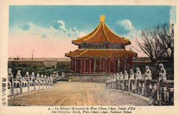 Le Kiosque Octogonal De Wan Cheou Chan , Palais D ' été - Cina