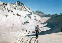 Verbier - La Piste De La Combe , Des Attelas Et Le Mont Gelé - VS Valais