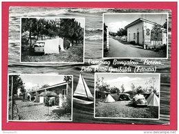 "CP  (Réf : C038) Camping Bungalow ""Florenz,, Lido Porto Garibadi (Ferrara)  MULTI VUES  (ITALIE) - Ferrara"