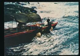 Suriname - Zendingskorjaal E.B.G.S. In Een Waterval [AA44 3.479 - Surinam