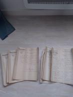Une Vingtaine De Courrier En Tête BIZOUART-BOISSELAT DIJON Période 10/1913 à 01/1914 - 1900 – 1949