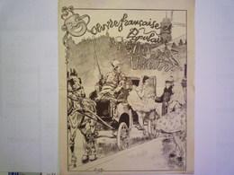 GP 2019 - 1934   Théâtre-Concert TITANIA  Joli Programme  1904  Illustré Par  JOB   XXX - Programmes