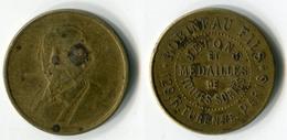 N93-0593 - Jeton Robineau Fils - 129, Rue Turenne à Paris - Jetons Et Médailles De Toutes Sortes - Professionnels / De Société