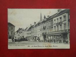 Ath  La Grand'Place Et Le Grand Bazar Parisien       ( 2 Scans ) - Ath