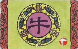 Hong Kong - PCCW/HKT (Autelca) - Chinese Zodiacs - Ox - 50HK$, 100.000ex, Used - Hongkong