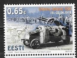 ESTONIA, 2019, MNH, HISTORY, MILITARY, BATTLE OF VONNU, 1v - History