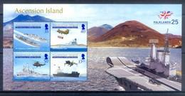 D166- Ascension Island. 25th Anniversary Of Falklands Liberation. - Ascension