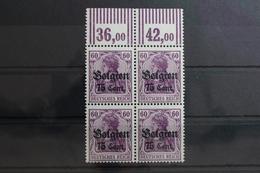 Deutsche Besetzung 1. WK Belgien 21 W OR ** Postfrisch Als 4er Einheit #SW107 - Besetzungen 1914-18