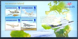 D167- Ascension Island. 25th Anniversary Of Falklands Liberation - Ascension