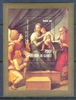 D170- Guinée Noel 1990. Paintings Of Raphael Nine. Christmas. - Guinea (1958-...)