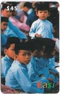 Brunei - DstCom - Easi - Children Staring, Prepaid 45$, Used - Brunei