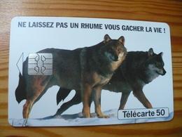 Phonecard France - Wolf - France