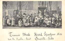 """Animée, Ecole Nationale De Peinture """"Pierre Jogelain"""" - 1902 - Bruxelles-ville"""