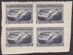 Liechtenstein     .   Yvert    .   Faux En Bloc De 4     .    **   .      Neuf SANS Charniere  .  /   .   MNH - Luchtpostzegels