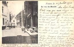 Fosses - La Rue Du Marché (E. Godard, 1900) - Fosses-la-Ville