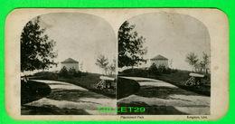 CARTES  STÉRÉOSCOPIQUES - MACDONALD PARK, KINGSTON, ONTARIO - CANON - - Stereoskopie