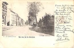 Fosses - La Rue De La Station (E. Godard, 1900) - Fosses-la-Ville