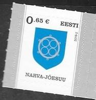 ESTONIA , 2019, MNH, DEFINITIVES, COAT OF ARMS, 1v - Stamps