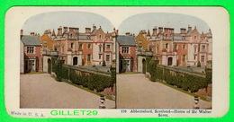 CARTES  STÉRÉOSCOPIQUES - ABBOTTSFORD, SCOTLAND, HOME OF SIR WALTER SCOTT - No 170 - - Stereoskopie