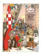 """2009 - 20ème Anniversaire Du """"Centre Belge De La Bande Dessinée. - Bloques 1962-...."""