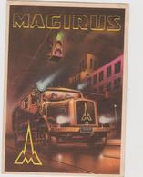 Magirus-Deutz, Mezzi Antincendio, Pubblicitaria, Illustrata - F.G. - Anno 1953 - Publicité