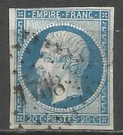 FRANCE - Oblitération Petits Chiffres LP 1708 LEZAY (Deux-Sevres) - Marcophilie (Timbres Détachés)