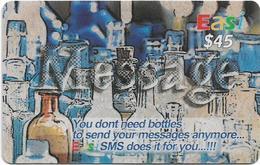Brunei - DstCom - Easi - SMS Messages Instead Of Bottles, Prepaid 45$, Used - Brunei