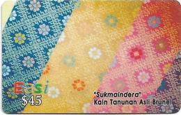 Brunei - DstCom - Easi - Sukmaindera, Prepaid 45$, Used - Brunei