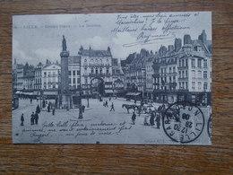 """"""" édition Cartes D'autrefois """" Lille , Grand Place , La Déesse """""""" Carte Animée """""""" - Lille"""