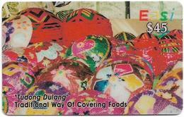 Brunei - DstCom - Easi - Tudong Dulang, Prepaid 45$, Used - Brunei