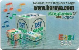 Brunei - DstCom - Easi - Www.baruya.com For Downloading, Prepaid 45$, Used - Brunei