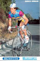 GRIMANI Enrico ITA (Civitavecchia (Lazio), 11-5-'64) 1989 Titanbonifica - Benotto - Sidermec - Ciclismo