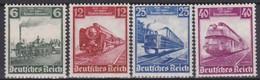 Deutsches Reich      .   Michel      .   580/583           .    **   .      Postfrisch    .  /   .   MNH - Deutschland